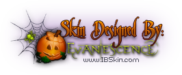 Skin Designed By Evanescence at IBSkin.com